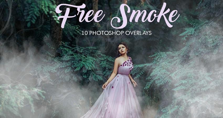 Smoke Efectos de fotografía de superposiciones