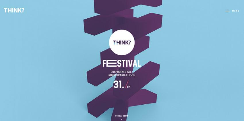 Ejemplo de pensamiento? Festival